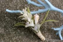 wedding photo - Кот Shell Бутоньерка, Пляж Тема Бутоньерка Для Жениха Для Вашей Свадьбы