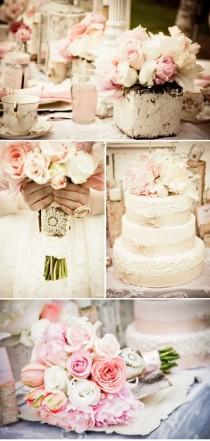 wedding photo - Свадьбы - Старинный Розовый Роман