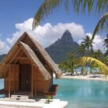 wedding photo - Chapelle de mariage de plage de Bora Bora