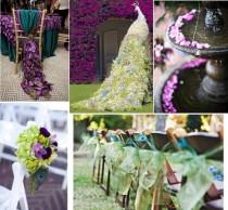 wedding photo - Pfauhochzeitsthema