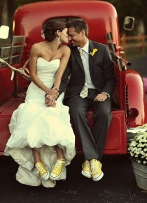 wedding photo - Mariage Rouge