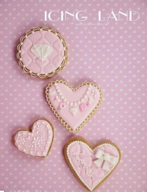 wedding photo - Belles cookies par le givrage des terres
