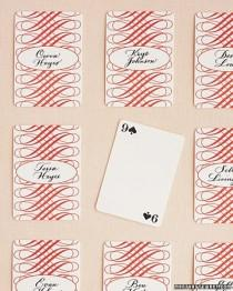 wedding photo - Playing Cards