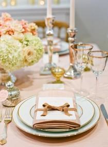 wedding photo - Tablescapes От Лизы Лефковиц