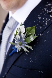 wedding photo - Cool Winter Colors-Groom