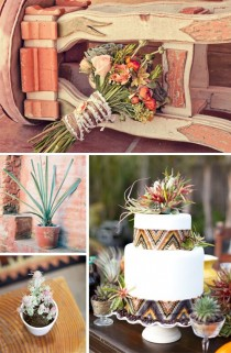 wedding photo - Юго-Запад Ацтеков Свадьбы Вдохновение
