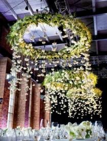 wedding photo - Pluie floral