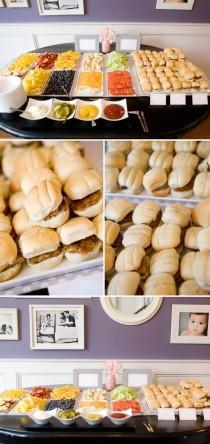 wedding photo - Super Fun...DIY Burger Bar