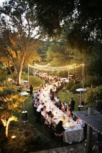 wedding photo - Heavenly Dinner Party.