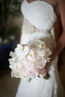 wedding photo - Orchids And Peonies