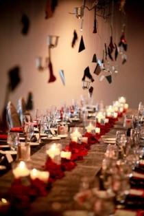 wedding photo - Halloween Décorations de table de mariage ce n'est pas pour les faibles de cœur ou superstitieux