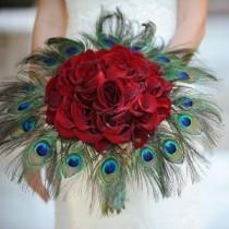 wedding photo - Peacock Wedding Style