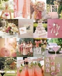 wedding photo - Pink Wedding