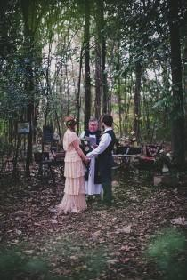 wedding photo - Vintage Woodland Wedding
