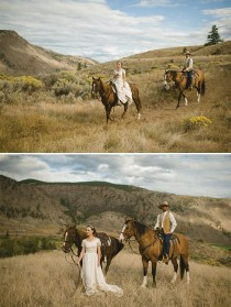 wedding photo - Ranch de mariage canadien par Nordica