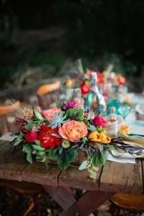 wedding photo - Богемный Свадьбы Вдохновение