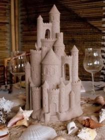 wedding photo - Sand Castle maîtresse