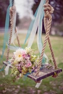 wedding photo - качели