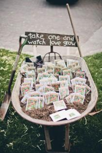 wedding photo - Seeds For Wedding Favors