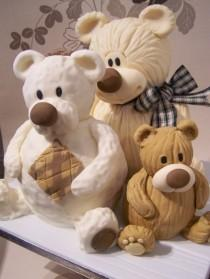 wedding photo - Tres Teds!