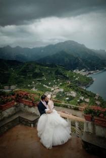 wedding photo - Was für eine Aussicht ... Minus den Wolken.