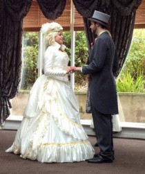 wedding photo - Couple victorienne