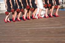 wedding photo - Red Wedding Shoes