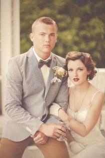 wedding photo - 1920s Travel Inspired Shoot