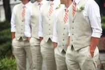 wedding photo - Тропический Женихи Стиль