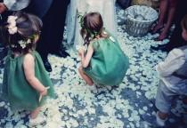 wedding photo - Зеленое Платье