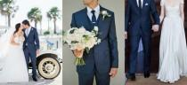 wedding photo - Navy Suits for Grooms