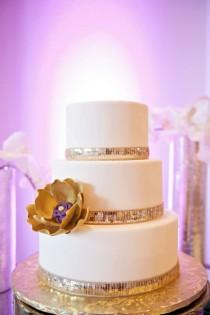 wedding photo - New Year's Radiant Orchid Wedding Inspiration