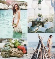 wedding photo - Conseil d'inspiration: Bohemian Plage