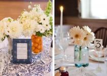 wedding photo - Daisy Wedding Centerpieces