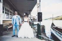 wedding photo - Glamorous and Eclectic Lake Windermere Wedding: Wendi & James