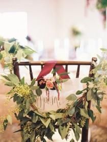 wedding photo - Weihnachten Chair Decor