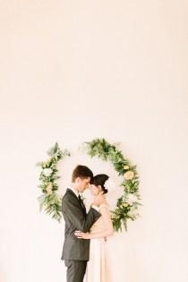 wedding photo - Idyllic Floral Wedding Inspiration