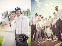 wedding photo - Sports Wedding Inspiration