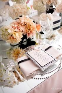 wedding photo - Chanel Inspired Table
