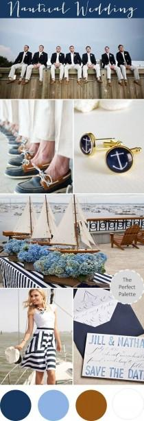 wedding photo - {Sail Away With Me}: Shades Of Blue   Brown