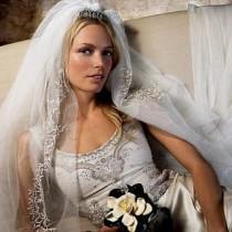 wedding photo - Hochzeit Frisuren mit Schleier
