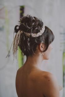 wedding photo - Cheveux de mariée / acconciatura Sposa