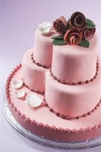 wedding photo - Gâteau de coeur de cru