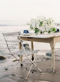 wedding photo - زفاف الشاطئ الإلهام