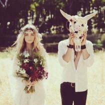 wedding photo - Boho Свадебные И Boho Невеста