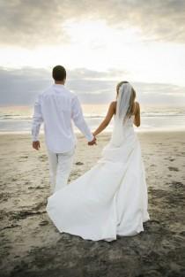 wedding photo - Wedding On The Beach !