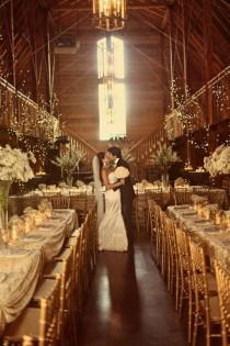 wedding photo - Grange glamour!