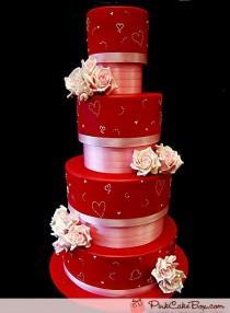 wedding photo - Mariage rouge d'amour
