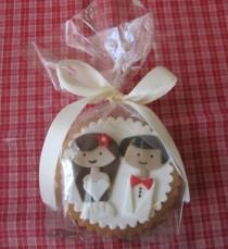 wedding photo - Faveurs de biscuit de mariage