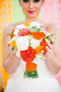 wedding photo - Neon-Hochzeits-Inspiration